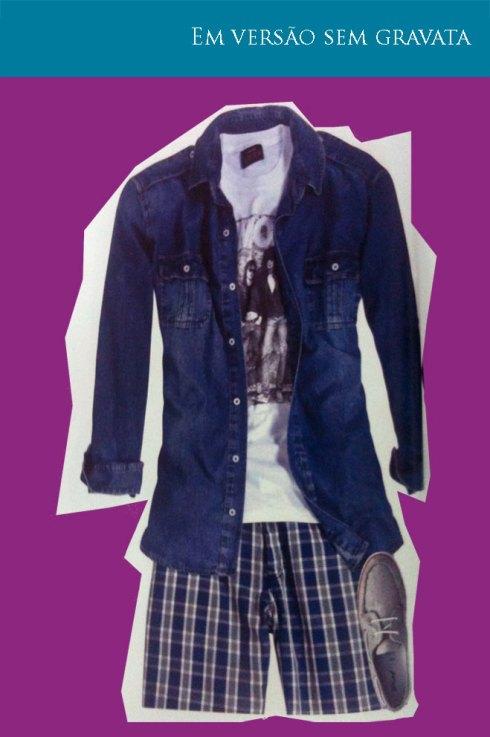 Créditos  Camisa C A, camiseta Colcci, bermuda Colt Silver e tênis Converse 42b0c82c42